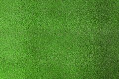 Artificial grass carpet as background, top view. Exterior element stock image