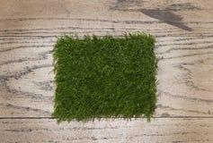 Artificial grass close up Royalty Free Stock Photos
