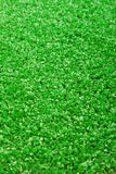 Artificial grass. Closeup of the artificial grass astroturf Stock Images