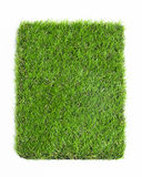 Artificial grass isolated on white background. Texture royalty free stock image