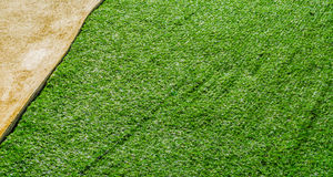 Artificial grass path way . Stock Photography