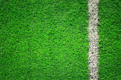 Artificial grass soccer background Royalty Free Stock Photos