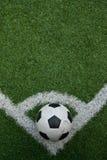 Artificial grass soccer field Royalty Free Stock Photos