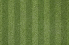 Artificial grass soccer field Stock Image