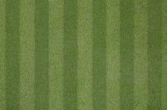 Artificial grass soccer field Stock Image