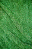 Artificial grass wrinkled background.For art texture or web desi Royalty Free Stock Photo