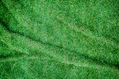 Artificial grass wrinkled background.For art texture or web desi Royalty Free Stock Photos