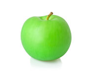 Artificial green apple Royalty Free Stock Photo