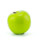 Artificial green apple. Royalty Free Stock Photography