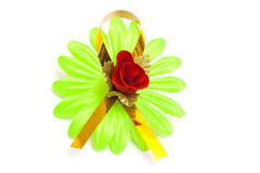 Artificial green flower Royalty Free Stock Photos