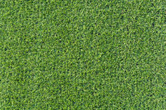 Artificial green grass background from soccer pitch. Royalty Free Stock Image