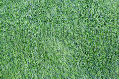 Artificial green grass. Artificial grass made from synthetic fibers Royalty Free Stock Photos