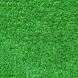 Artificial green grass texture or green grass background for golf course. soccer field or sports background stock image