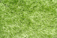 Artificial Green Plastic Grass Royalty Free Stock Images