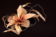 Artificial handmade flowers Stock Photos