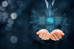 Artificial intelligence Royalty Free Stock Photography