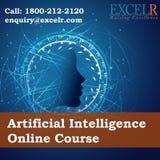 Artificial intelligence certification vector illustration