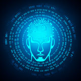 Artificial intelligence concept Royalty Free Stock Photography