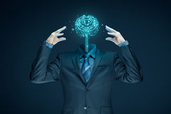 Artificial intelligence concept royalty free stock images