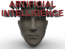 Artificial intelligence concept Royalty Free Stock Image