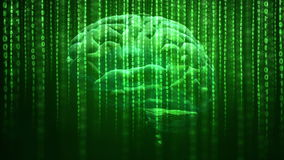 Artificial intelligence concept stock footage