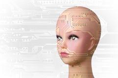Artificial Intelligence concept Stock Photos