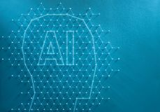 Artificial intelligence concept stock images