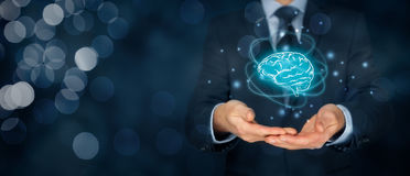 Artificial intelligence and creativity Royalty Free Stock Photos