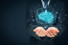Artificial intelligence and creativity Royalty Free Stock Photo
