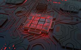 Free Artificial Intelligence, Digital Mind, Computer Technology. Motherboard, Processor, CPU, Quantum Computer 3D Illustration Royalty Free Stock Photo - 182889025