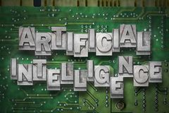 Artificial intelligence gr Royalty Free Stock Photography