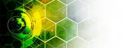 Artificial intelligence. Technology web background. Virtual conc. Abstract Artificial intelligence. Technology web background. Virtual concept Stock Image