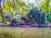Artificial Island,Carol Park Bucharest  Romania Royalty Free Stock Images