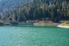 Artificial lake Royalty Free Stock Images