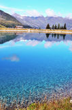 Artificial lake in racines Royalty Free Stock Photos