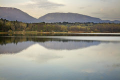 Artificial Lake in Tirana. Albania Stock Images