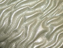 Artificial leather. White rough artificial leather suitable as background Royalty Free Stock Photos