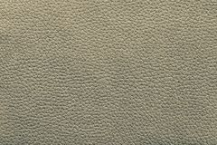 Artificial leather fabric of gray green color Royalty Free Stock Photography