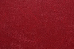 Artificial Leather Texture. High resolution photo of red artificial leather Stock Photo