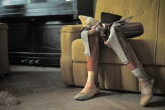 Artificial limb royalty free stock images