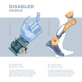 Artificial limb Stock Images