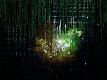 Artificial Logic Stock Photography