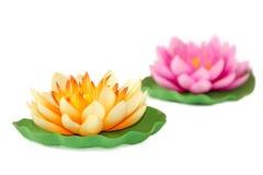 Artificial lotus Stock Photo