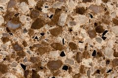 Artificial marble granite stone textured background. Close up of artificial marble granite stone textured background. High resolution photo Royalty Free Stock Image