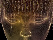 Artificial Mind Royalty Free Stock Image