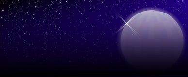 Artificial Moon Stock Image