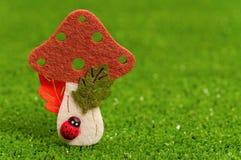 Artificial mushrooms Royalty Free Stock Photos