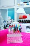 Artificial nail stock photo