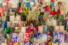 ARTIFICIAL NAILS Royalty Free Stock Images