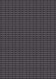 Artificial perforated metal plate Stock Photography